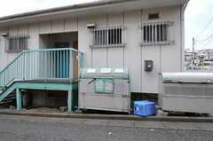 入居者専用のゴミBOXが設置されています。(2012-08-03,共用部,OTHER,3F)