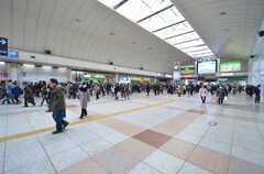 各線・川崎駅の様子。(2016-02-25,共用部,ENVIRONMENT,1F)