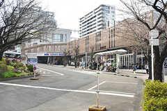 東急田園都市線・宮崎台駅前のバスロータリー。(2017-03-30,共用部,ENVIRONMENT,1F)