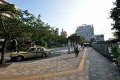 東急田園都市線・宮崎台駅周辺の様子。 (2010-08-17,共用部,ENVIRONMENT,1F)