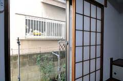 専用の物干し場があります。(102号室)(2011-01-19,専有部,ROOM,1F)