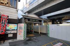 東急東横線・元住吉駅の様子。(2011-01-19,共用部,ENVIRONMENT,1F)