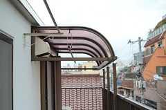 屋根付きの部分もあります。(2014-06-30,共用部,OTHER,3F)