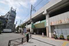 JR南武線・武蔵新城駅の様子。(2014-06-30,共用部,ENVIRONMENT,1F)
