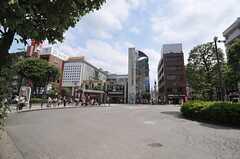JR南武線・武蔵新城駅前の様子。(2014-06-30,共用部,ENVIRONMENT,1F)