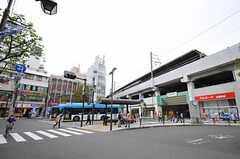 JR南武線・武蔵新城駅の様子。(2013-04-23,共用部,ENVIRONMENT,1F)