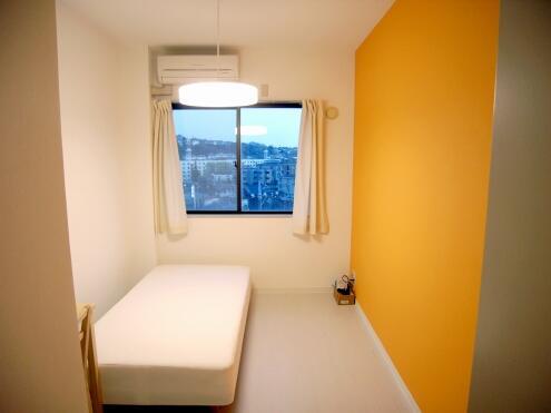 オレンジの部屋