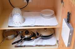 キッチン下は収納スペースです。(2012-11-13,共用部,KITCHEN,1F)