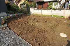 菜園の様子。(2012-11-13,共用部,OTHER,1F)