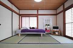 専有部の様子。和室です。(201号室)(2013-05-13,専有部,ROOM,2F)
