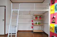 ロフトベッド付きです。(101号室)(2013-05-13,専有部,ROOM,1F)