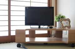 TVの様子。(102号室)(2013-05-13,専有部,ROOM,1F)