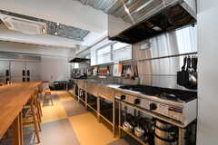 キッチンの様子。業務用です。(2017-02-13,共用部,KITCHEN,1F)