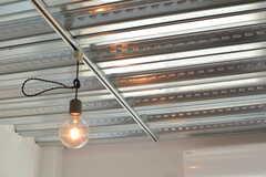 天井は構造そのままの仕上げ。(203号室)(2017-02-13,専有部,ROOM,2F)