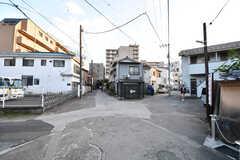周辺は住宅も多いエリアです。(2017-02-13,共用部,ENVIRONMENT,1F)