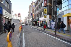 駅前も商店街が充実しています。(2017-02-13,共用部,ENVIRONMENT,1F)