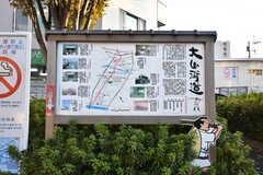 大山街道を進むと二子玉川に行けます。(2017-02-13,共用部,ENVIRONMENT,1F)