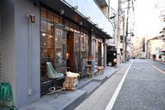 二子玉川方面にはカフェや雑貨屋さんもチラホラ2。(2017-02-13,共用部,ENVIRONMENT,1F)