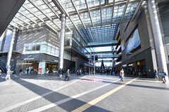各線・二子玉川駅の様子。(2017-02-13,共用部,ENVIRONMENT,1F)