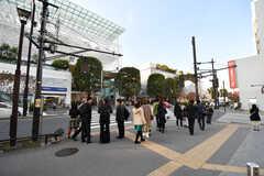 各線・二子玉川駅前の様子。(2017-02-13,共用部,ENVIRONMENT,1F)