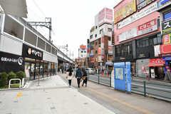 各線・武蔵小杉駅前の様子。(2020-12-14,共用部,ENVIRONMENT,1F)