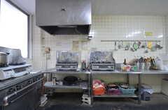 キッチンの様子2。(2014-12-11,共用部,KITCHEN,1F)