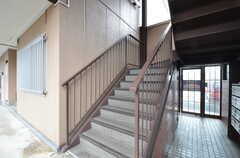 階段の様子。(2014-12-11,共用部,OTHER,1F)
