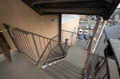 階段の様子。(2008-12-10,共用部,OTHER,4F)