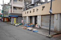 JR南武線宿河原駅近くのスーパー、こがねストアの様子。(2008-12-10,共用部,ENVIRONMENT,1F)