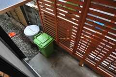 ゴミ置き場の様子。(2012-11-13,共用部,OTHER,1F)