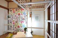 専有部の様子2。ロフトベッドです。(101号室)(2012-11-13,専有部,ROOM,1F)