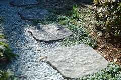 石畳も味わいある雰囲気。(2013-01-11,共用部,OTHER,1F)