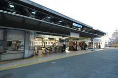 小田急小田原線・読売ランド前駅の様子。(2013-01-11,共用部,ENVIRONMENT,1F)