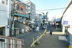 小田急小田原線・読売ランド前駅前の様子。(2013-01-11,共用部,ENVIRONMENT,1F)