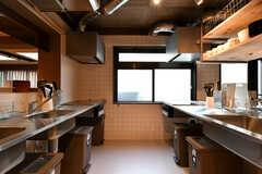 キッチンの様子2。(2021-03-11,共用部,KITCHEN,1F)