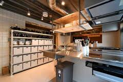 キッチンの様子3。(2021-03-11,共用部,KITCHEN,1F)