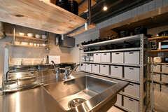 キッチンの様子4。(2021-03-11,共用部,KITCHEN,1F)