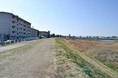 シェアハウスの近くには多摩川の河川敷があります。(2021-03-11,共用部,ENVIRONMENT,1F)