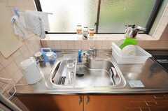 シェアハウスのキッチンの様子。(2009-10-29,共用部,KITCHEN,3F)
