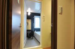 脱衣室の様子。(2012-03-22,共用部,BATH,7F)