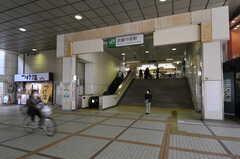 JR南武線・武蔵中原駅の様子。(2012-03-22,共用部,ENVIRONMENT,1F)