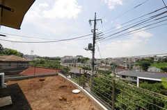 共用の庭の様子。(2011-07-06,共用部,OTHER,1F)
