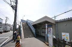 小田急線・読売ランド前駅の様子。(2011-07-06,共用部,ENVIRONMENT,1F)