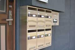 部屋ごとに設けられた郵便受け。(2021-06-01,周辺環境,ENTRANCE,1F)