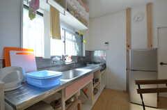 キッチンの様子。(2014-08-06,共用部,KITCHEN,1F)