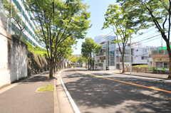 東急田園都市線・宮崎台駅からシェアハウスへ向かう道の様子。(2014-08-06,共用部,ENVIRONMENT,1F)