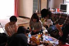ファッション誌の撮影時の様子4。(2013-02-20,共用部,PARTY,1F)
