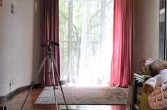 ファッション誌の取材時の様子5。(2010-05-21,共用部,LIVINGROOM,1F)