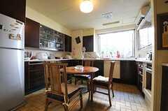 キッチンの様子。(2013-02-20,共用部,KITCHEN,1F)