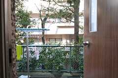外に物干し場があります。(2013-02-20,共用部,OTHER,1F)